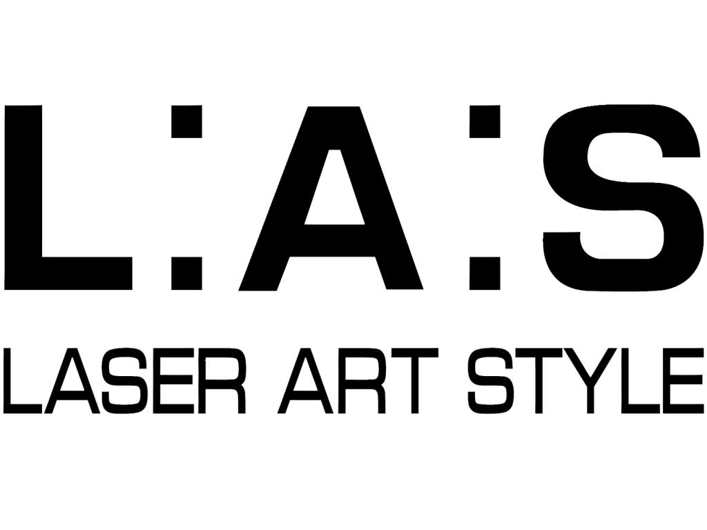 Logo Laser art style